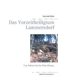 Cover Das Vorzeitheiligtum Lammersdorf