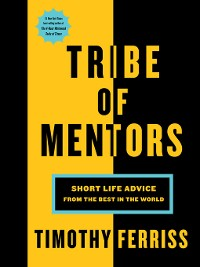 Cover Tribe of Mentors