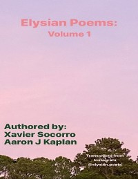 Cover Elysian Poems: Volume 1