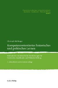 Cover Kompetenzorientiertes historisches und politisches Lernen