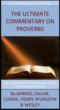 Cover The Ultimate Commentary On Proverbs