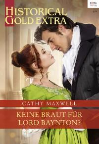 Cover Keine Braut für Lord Baynton?