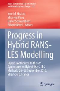 Cover Progress in Hybrid RANS-LES Modelling