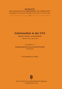 Cover Arbeitsmedizin in den USA