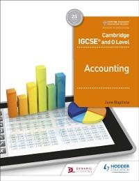 Cover Cambridge IGCSE and O Level Accounting