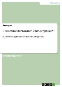 Cover Deutschkurs für Kranken-und Altenpfleger
