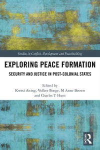 Cover Exploring Peace Formation