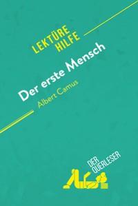 Cover Der erste Mensch von Albert Camus (Lektürehilfe)