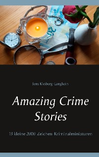 Cover Amazing Crime Stories
