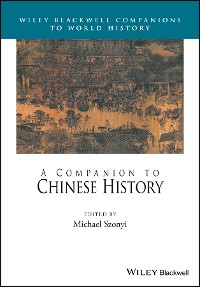 Cover A Companion to Chinese History
