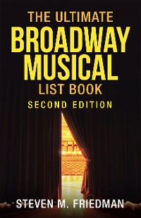 Cover The Ultimate Broadway Musical List Book