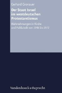 Cover Der Staat Israel im westdeutschen Protestantismus
