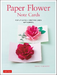 Cover Paper Flower Note Cards