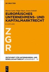 Cover Europaisches Unternehmens- und Kapitalmarktrecht