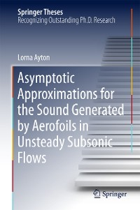 Cover Asymptotic Approximations for the Sound Generated by Aerofoils in Unsteady Subsonic Flows
