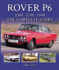 Cover Rover P6: 2000, 2200, 3500