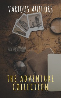 Cover The Adventure Collection: Treasure Island, The Jungle Book, Gulliver's Travels, White Fang...