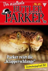 Cover Der exzellente Butler Parker 49 – Kriminalroman