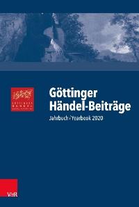 Cover Göttinger Händel-Beiträge, Band 21