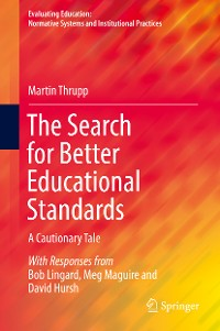 Cover The Search for Better Educational Standards