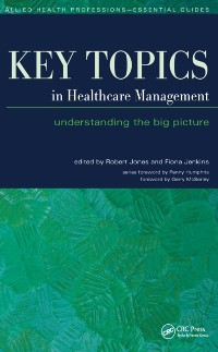 Cover Key Topics in Healthcare Management