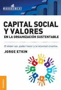 Cover Capital social y valores en la organización sustentable
