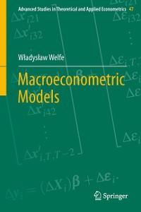 Cover Macroeconometric Models