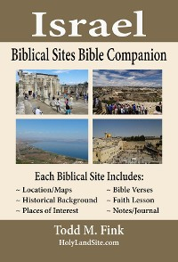 Cover Israel Biblical Sites Bible Companion