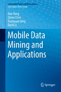Cover Mobile Data Mining and Applications