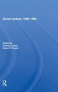 Cover Soviet Update, 1989-1990