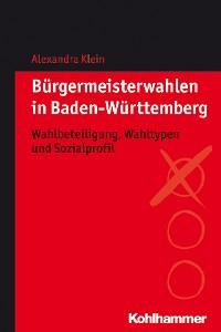 Cover Bürgermeisterwahlen in Baden-Württemberg
