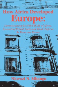 Cover How Africa Developed Europe