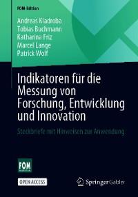 Cover Indikatoren für die Messung von Forschung, Entwicklung und Innovation