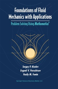 Cover Foundations of Fluid Mechanics with Applications
