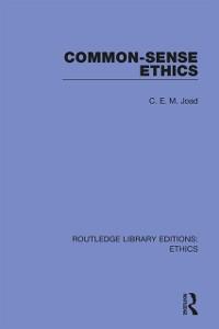 Cover Common-Sense Ethics