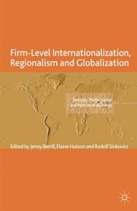 Cover Firm-Level Internationalization, Regionalism and Globalization