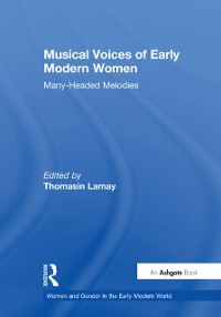 Cover Musical Voices of Early Modern Women