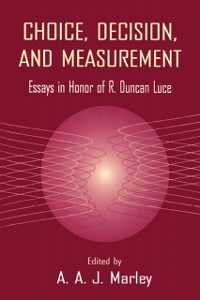 Cover Choice, Decision, and Measurement
