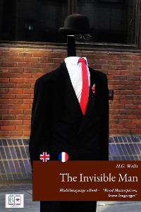 Cover The Invisible Man (English + French Interactive Version)