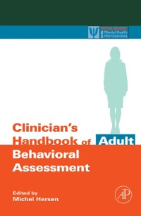Cover Clinician's Handbook of Adult Behavioral Assessment