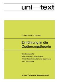 Cover Einfuhrung in die Codierungstheorie