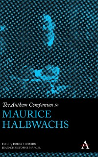 Cover The Anthem Companion to Maurice Halbwachs