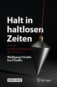 Cover Halt in haltlosen Zeiten