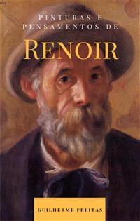 Cover Pinturas e pensamentos de Renoir