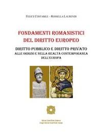 Cover Fondamenti Romanistici del Diritto Europeo