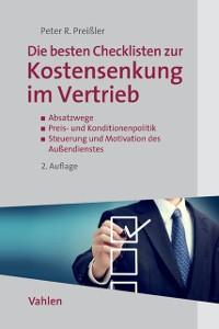 Cover Die besten Checklisten zur Kostensenkung im Vertrieb