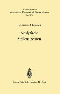 Cover Analytische Stellenalgebren