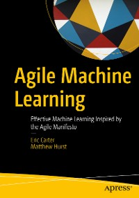 Cover Agile Machine Learning