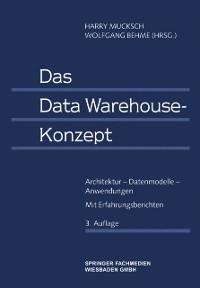 Cover Das Data Warehouse-Konzept