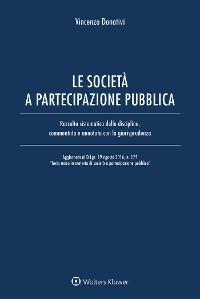 Cover Le società a partecipazione pubblica